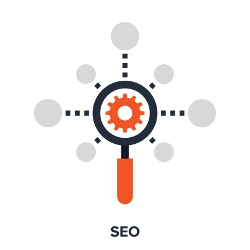 Ikonka symbolizująca SEO Search Engine Optimization